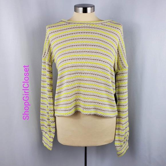 💥Just In💥Sweet & Sinful Crop Sweater...Sz L Jr